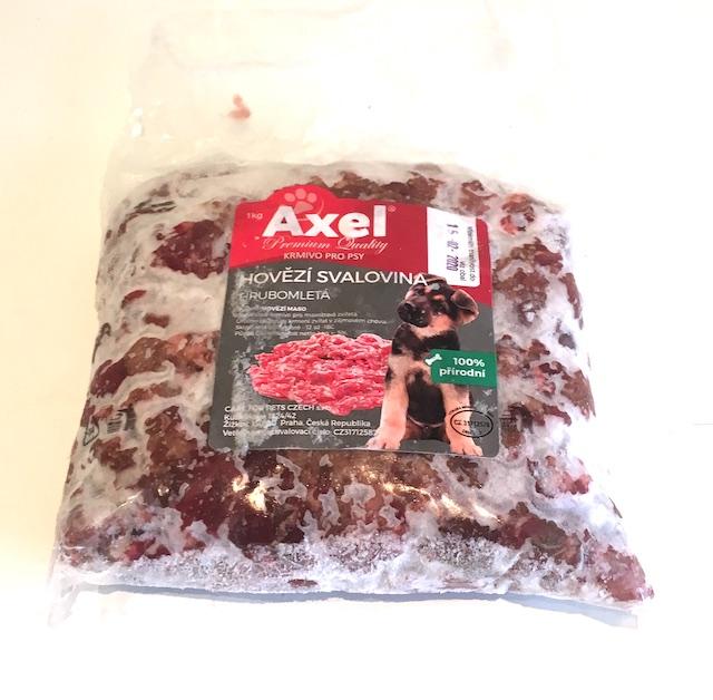 Hovězí svalovina hrubomletá 1kg - Velva (Axel)