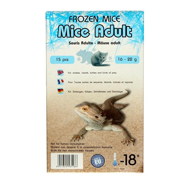 Mražená myš 16-22g - 15ks (krabička)