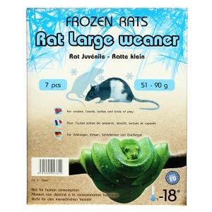 Potkan mražený - váha 26-50 g - 7ks (krabička)