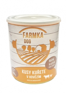 FARMKA DOG s kuřetem 800g - Sokol Falco
