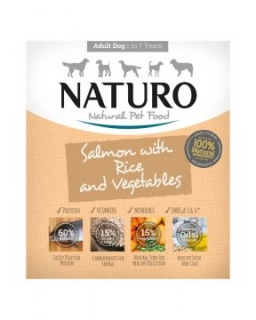 Naturo Adult Salmon&Rice with Vegetables 400g