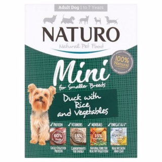Naturo Dog Adult Duck & Rice with Vegetables 150g
